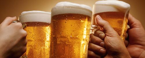 1½ times gratis øl hver måned